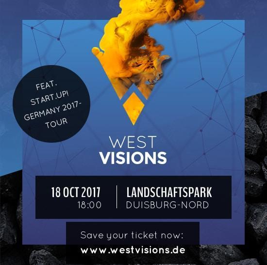 WestVisions #3 am 18.10.2017 - Thema: Digital trifft Gründer