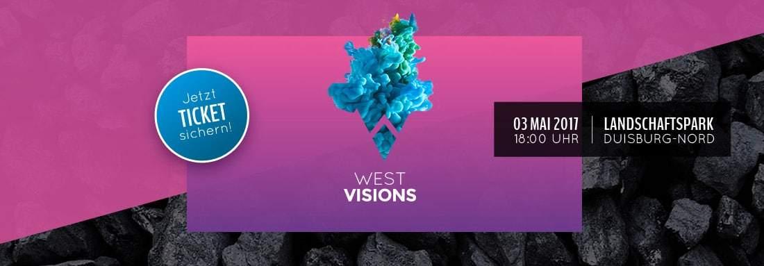 Westvisions #2 - 03. Mai 2017, 18 Uhr